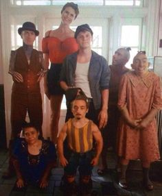 AHS Freak Show!! These are all amazing people.