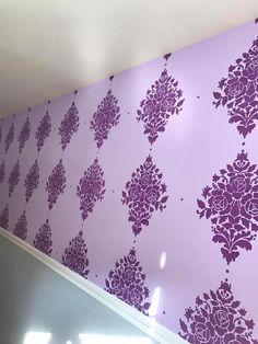 Custom Stencil Wall