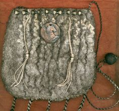 Pegasus wet felted bag by ThistleWoolworks on Etsy, $95.00
