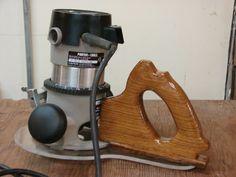 Oak-y D-ok D Handle Router, jig - by DocSavage45 @ LumberJocks.com ~ woodworking community