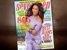 Shay Mitchell (Emily Fields) is on the cover of this month's 'Seventeen' magazine!  It's on stands now!  Check it out and tune in to see Shay on PLL Tuesdays at 8/7c on ABC Family!