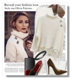 """""""Style Icon- Olivia Palermo"""" by fashion-architect-style ❤ liked on Polyvore featuring Hemingway, Sole Society, Topshop, Lord & Taylor, Glitzy Rocks, Shoe Republic LA and NARS Cosmetics"""