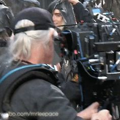 The Hobbit: the Battle of the Five Armies behind the scenes - Lee Pace <3