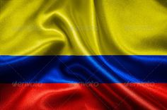 Flag of Colombia ... abstract, america, background, banner, blue, canvas, colombia, colombian, color, country, culture, curve, design, fabric, flag, frame, freedom, glory, material, moving, nation, national, patriotic, patriotism, pattern, red, republic, sign, silk, symbol, textile, texture, textured, wallpaper, wave, waving, wind, yellow