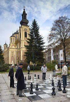 Playing Chess in Sarajevo, Baščaršija
