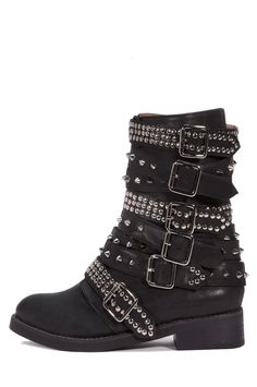 Jeffrey Campbell Cruzados Boot Jeffrey Campbell, Gothic Shoes, Shoe Closet, Put On, Barefoot, Black Silver, Shoe Boots, Fashion Accessories, Walking