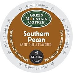 Green Mountain Coffee Light Roast K-Cup for Keurig Brewers, Southern Pecan Coffee (Pack of 96) ** Wow! I love this. Check it out now! : K Cups