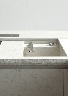 Atelier Zafari.Architecture | housing at the old city wall berlin; #basin, rough cut bench edge