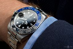 We spend quality time with one of the hottest Rolex's of recent years. Read our thoughts in our in depth Rolex GMT Master II BLNR review - ref 116710BLNR