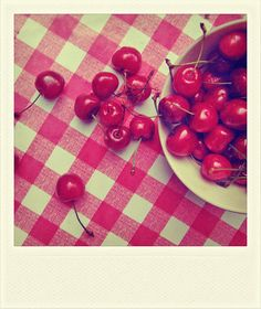 I remember picking cherries from my Mamaw Hudson's  cherry tree!  Had to get them before the birds!!!!!!