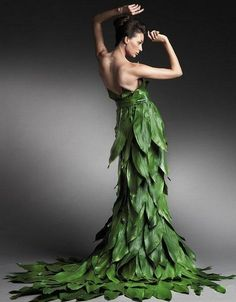 Bio wear, for my new Poison Ivy gown!