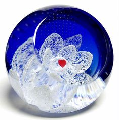 Caithness Paperweight With Love - Boxed by Caithness
