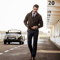 David Gandy for M&S Spring Behind the wheel (Video) ~ David James Gandy David Gandy Style, David James Gandy, Fashion Moda, Mens Fashion, Daily Fashion, Style Fashion, Style Masculin, Dolce E Gabbana, My Guy