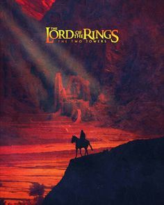 The Lord of the rings The Two Towers  alternative movie poster Fantastic Movie posters #SciFi movie posters #Horror movie posters #Action movie posters #Drama movie posters #Fantasy movie posters #Animation movie Posters #lordoftherings