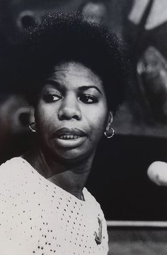 Nina Simone, 1965 ... One of the most amazing singers that I've listen to.