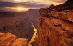 Faszinierende Tapete des Grand Canyon auf Ihrem Desktop