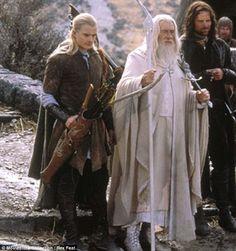 Legolas, Gandalf and Aragorn