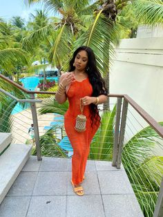 Cute Swag Outfits, Classy Outfits, Pretty Outfits, Girl Outfits, Fashion Outfits, Black Girl Fashion, Cute Fashion, Beach Party Outfits, Dress To Impress