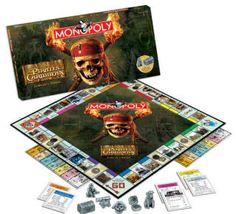 Monopoly Piratas del Caribe II