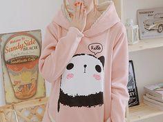 Kawaii of the Day 434 – Cute Panda Hoodie Posted: July 11th, 2013 | Author: kawaiicase | Filed under: KOTD | Tags: clothes, clothing, panda, pandas