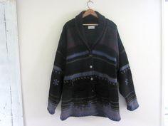 Vintage Southwestern Wool Blanket Coat // by dirtybirdiesvintage, $40.00