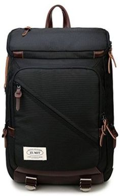 6e5072a980ad ZUMIT Laptop Backpack 13314 inch Professional Business Bag Rucksack Water  Resistant Black 805     Click image for more details.