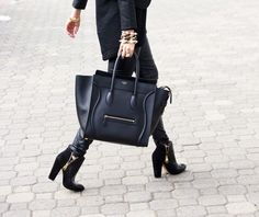 Very nice bag and boots ...