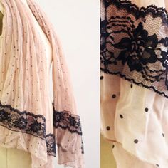Love this! Lace DIY scarf