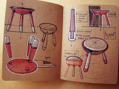 Internship Sketch Book 2012 by Roshan Hakkim, via Behance