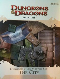 Dungeon Tiles Master Set: The City really impressive set that combines some old tiles with some great new ones.