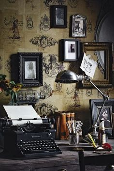 Room of dusty antiques
