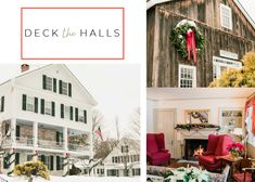 Brattleboro Vermont, Deck The Halls, Christmas Home Decorating