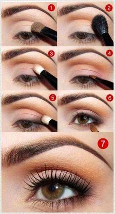 Easy weekend makeup