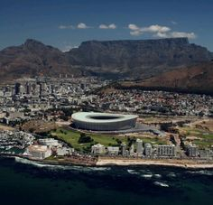 Green Point Stadium in Cape Town