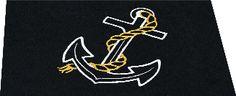 Nautic-Mat Anchor Black www.nautic-mats.eu