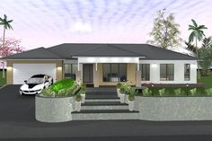 House Plan No W2150A Single Storey House Plans, All Design, House Design, Site Plans, Garage Plans, House Floor Plans, Home Collections, Beautiful Homes, Pergola