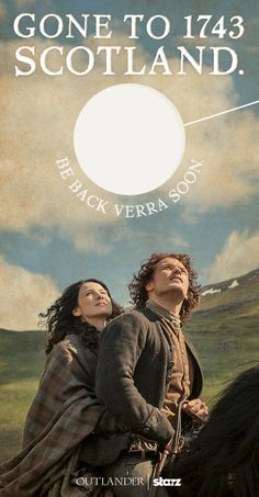 Keep restless clansmen and wee ones at bay during #OutlanderMarathon with this handy door hanger.