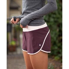 Image via We Heart It https://weheartit.com/entry/143835106 #exercise #fit #fitness #green #grey #health #legs #maroon #run #shorts #trees #white #workout #stayfit