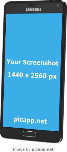 Add your mobile app screenshot image to an iPhone frame, iPad frame or Android device frame. Samsung Device, Galaxy Note 4, Android Apps, Mobile App, Perspective, Frames, Samsung Galaxy, Good Things, Phone