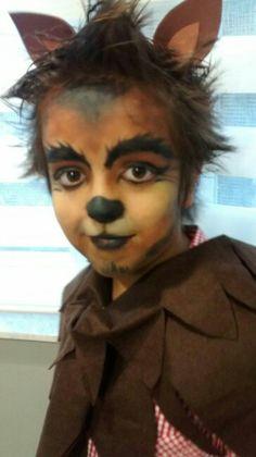 Hombre lobo! Halloween Disfraces, Halloween Face Makeup, Hair Beauty, Ideas Para, Artist, Painting, Costumes, Random, Teacup Pigs