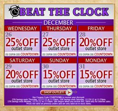 Great deals on All Outlet Items