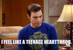 hahaha oh, Sheldon..