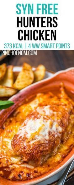 Syn Free Hunters Chicken | Pinch Of Nom Slimming World Recipes 373 kcal | Syn Free | 4 Weight Watchers Smart Points