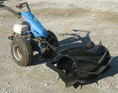 Green manure crusher  for the BCS walking tractor