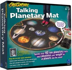 Educational Insights Geosafari Talking Planetary Mat Electronic Game