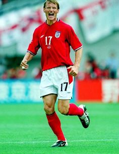 Teddy Sheringham of England in action at the 2002 World Cup Finals. 2002 World Cup, England Football, World Cup Final, Football Team, Finals, Action, Sports, Legends, England