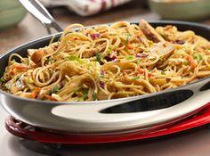 Campbell's Kitchen: Thai Noodles & Chicken Recipe