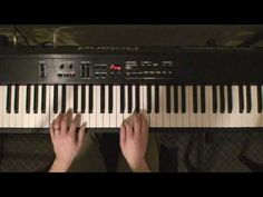 Learn How To Play Piano By Ear - Left Hand Slow Song Tutorial