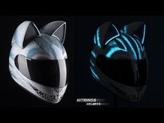 Women's Motorcycle Helmets Which Will Make Your Lady HOT AS HELL! Presenting The ADORABLE CAT-INSPIRED Racing NEKO HELMETS! - NO Car NO Fun! Muscle Cars and Power Cars! |