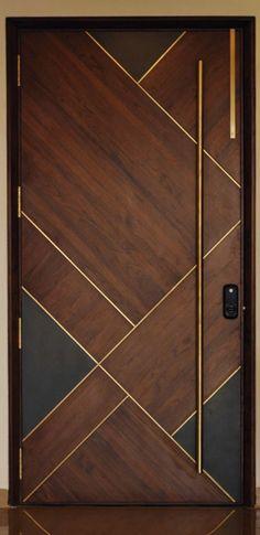 ideas main door design modern decor for 2019 Modern Wooden Doors, Wooden Door Design, Wood Doors, Wooden Ceiling Design, Front Door Design Wood, Contemporary Doors, House Entrance, Entrance Doors, Entrance Design